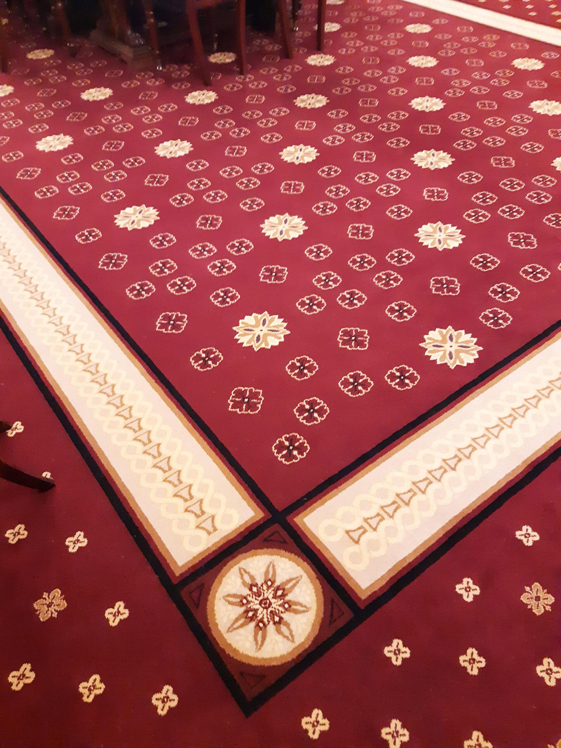 Victorian Parliament carpet Close Up